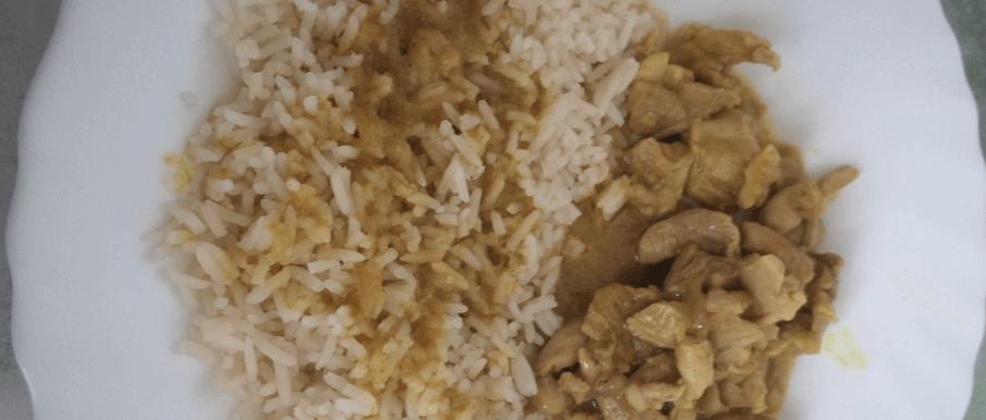 Pollo Al Curry Al Microonde - Ricette Al Microonde